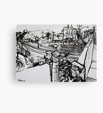 Raleigh Street, Footscray, 2012 Canvas Print