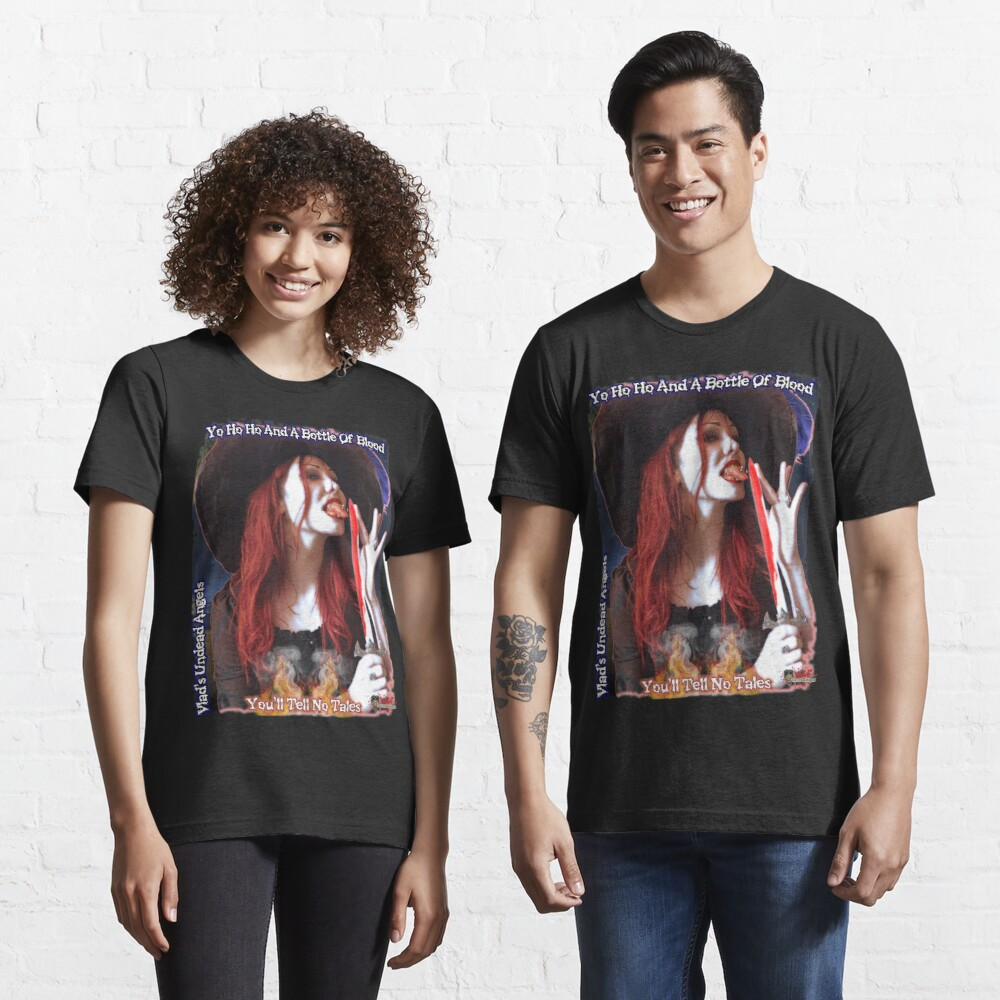 Live Undead Angels: Vampire Pirate Essential T-Shirt