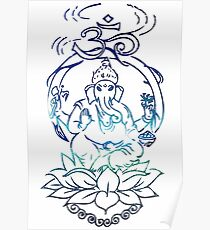 The One With Ganesha Poster