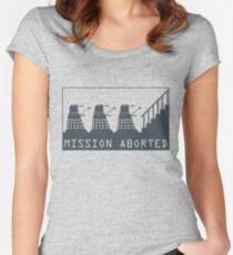 Mission Aborted Women's Fitted Scoop T-Shirt