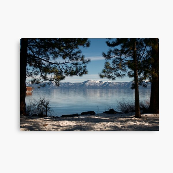 Lake Tahoe Mountains Canvas Print