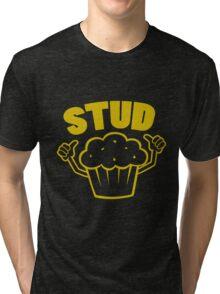 Stud Muffin Tri-blend T-Shirt
