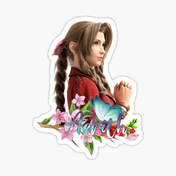 Final Fantasy 7 Remake Aerith Gainsborough Sticker