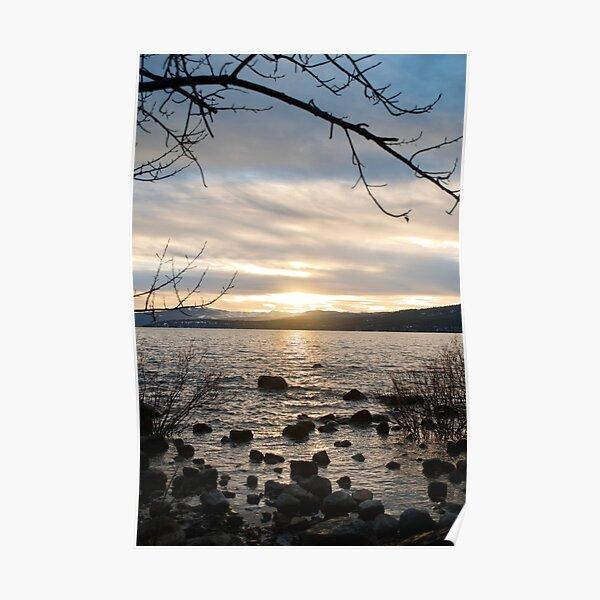 Lake Tahoe Sunset 2 Poster