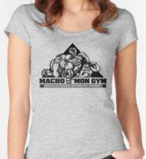 Macho'mon Gym Women's Fitted Scoop T-Shirt