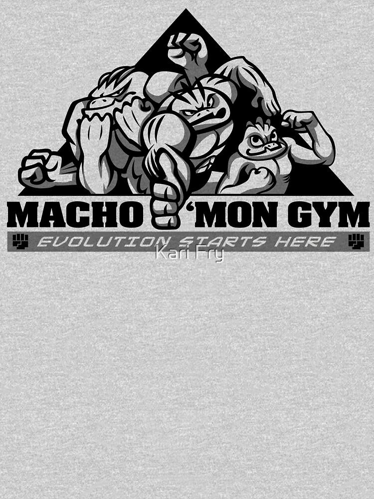 Macho'mon Gym | Unisex T-Shirt