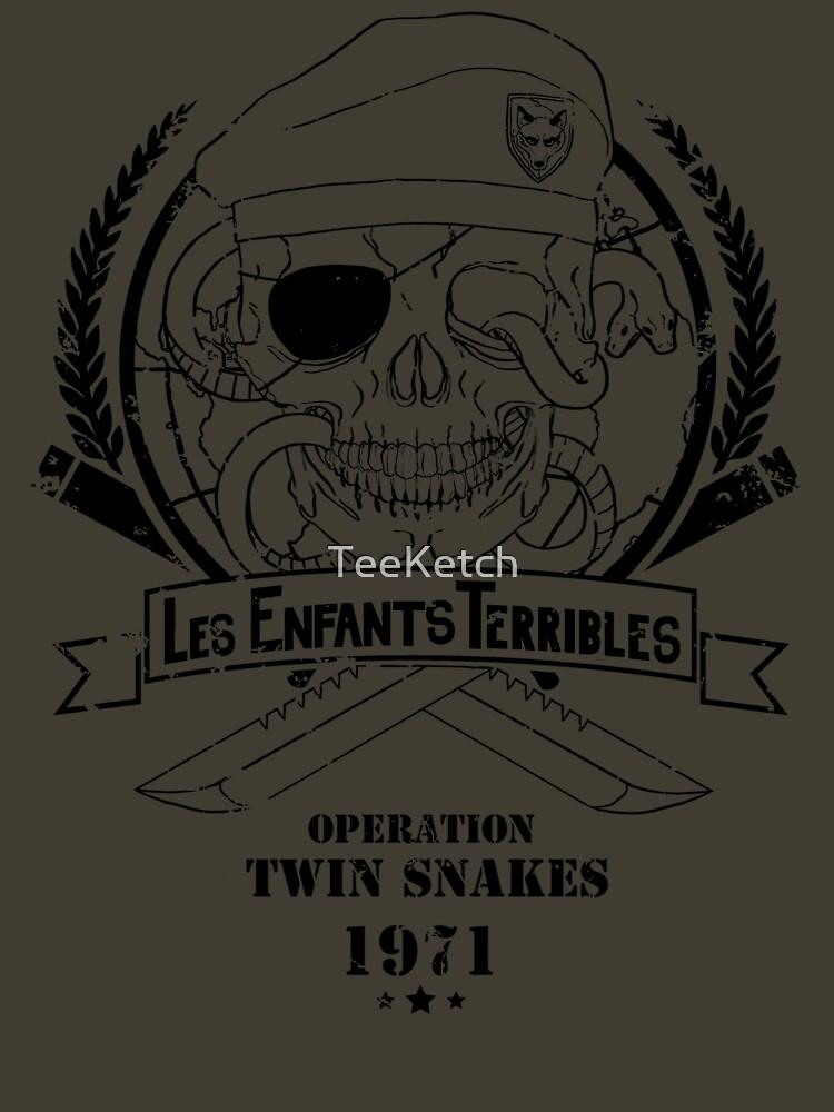 Les Enfants Terribles (Big Boss Edition) | Unisex T-Shirt