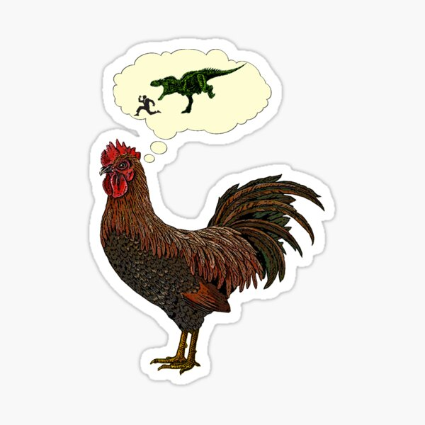 ROOSTER DAYDREAMS Sticker