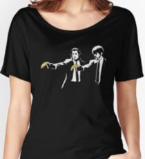 PULP FICTION BANANA. Women's Relaxed Fit T-Shirt