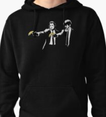 PULP FICTION BANANA. Pullover Hoodie
