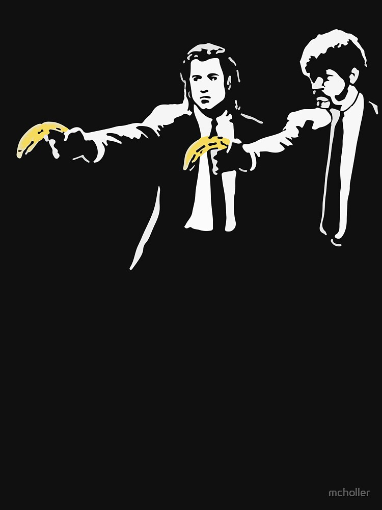 TShirtGifter presents: PULP FICTION BANANA. | Unisex T-Shirt