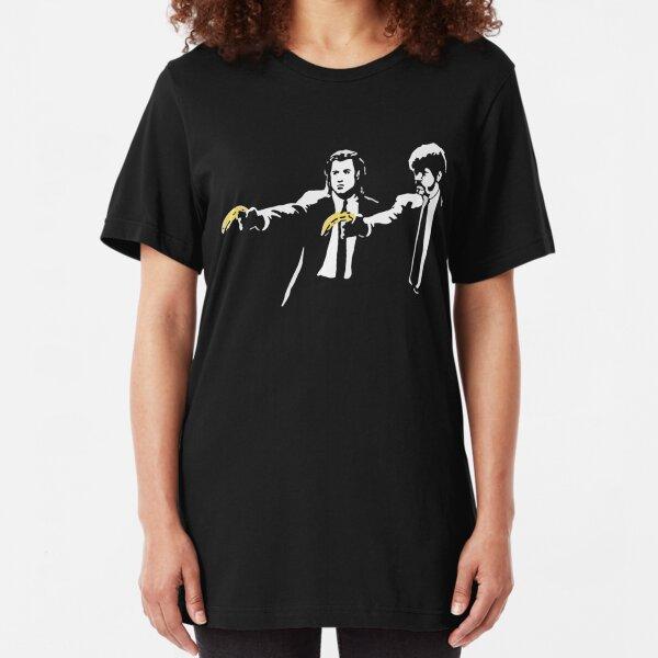PULP FICTION BANANA. Slim Fit T-Shirt