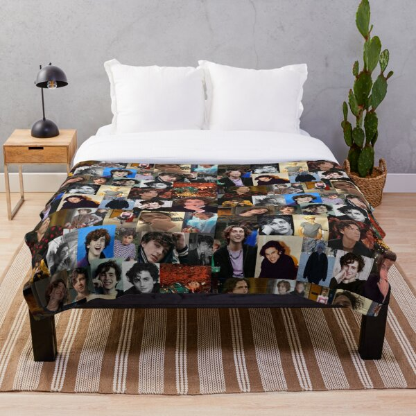 another Timmy collage  Throw Blanket