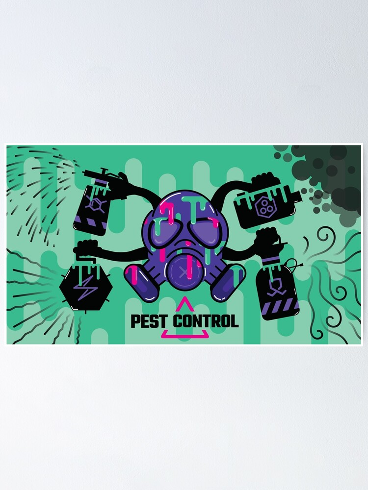 Alternate view of Pest Control Concept Art Poster