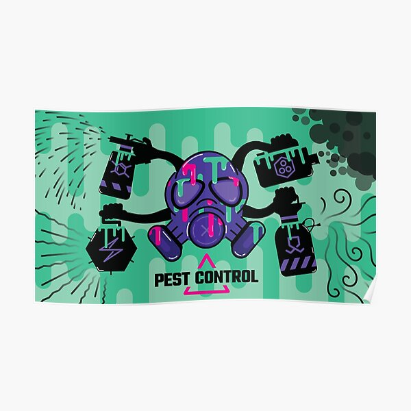 Pest Control Concept Art Poster