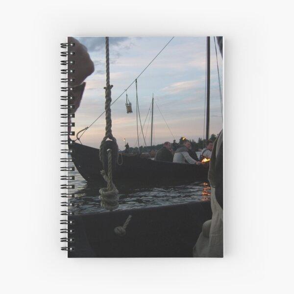 Viking Oarsmen Spiral Notebook
