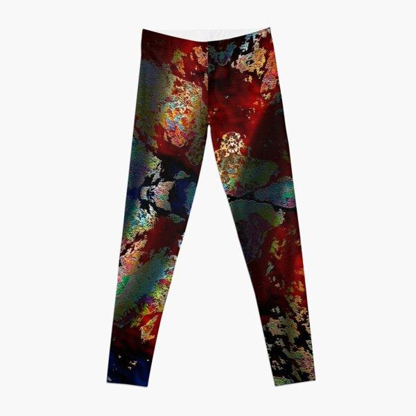 Batik Swirl Leggings