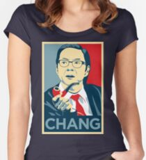 Chang We Can Believe In (Community) Women's Fitted Scoop T-Shirt