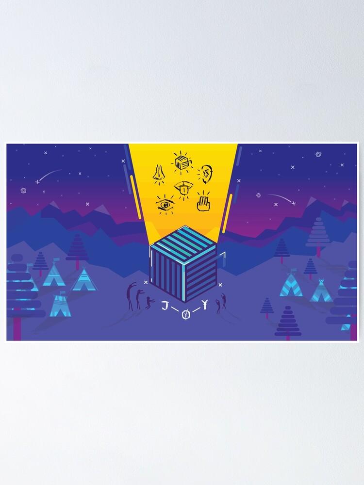 Alternate view of JOY Concept Art Poster
