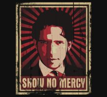 Show No Mercy poster - distressed
