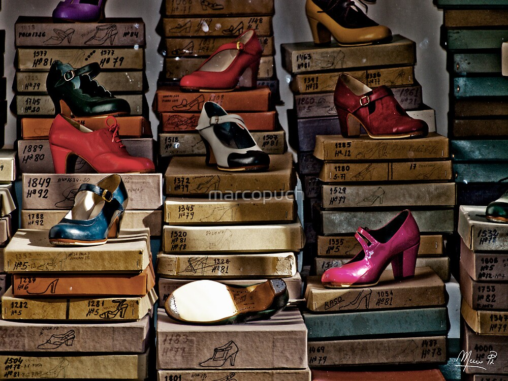 Flamenco shoes by marcopuch