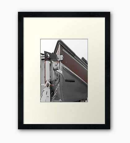 Take me to the water Framed Print