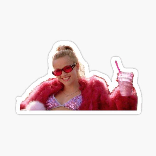 Classy Elle Woods Sticker