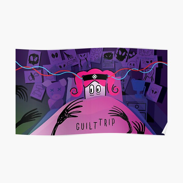 Guilt Trip Concept Art Poster