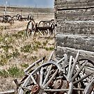 Wagon Wheels by Angela E.L. Clements