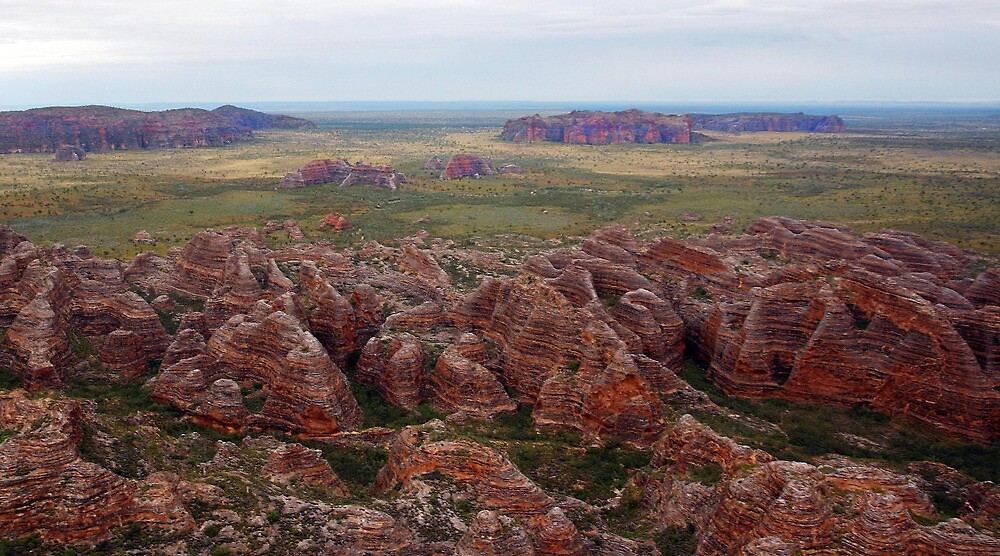 Bungles as seen from the chopper by georgieboy98