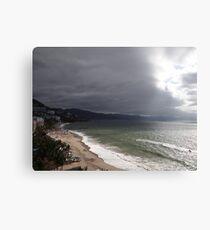 Afternoon At The Bay Of Banderas - Tardecita Canvas Print