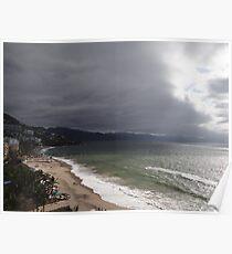 Afternoon At The Bay Of Banderas - Tardecita Poster