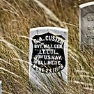 Custer's Headstone by Angela E.L. Clements