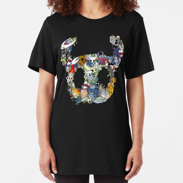 Hollow Crew (Mask) Slim Fit T-Shirt