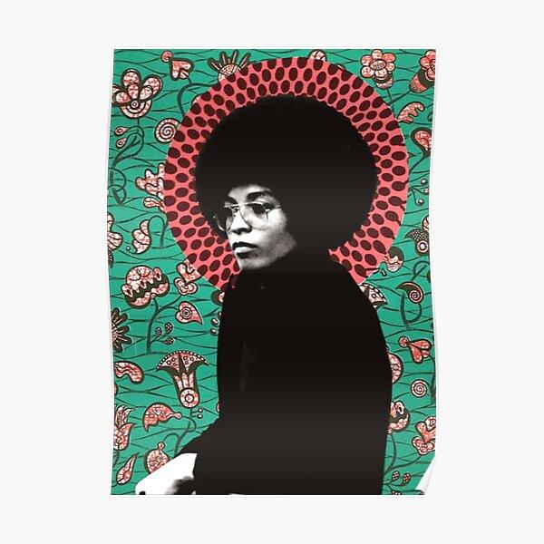 Angela Davis Poster