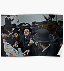 Shabbat ... Shalom ! Harcikn Dank ! A dank ojch zejer!  by Doktor Faustus  Poster