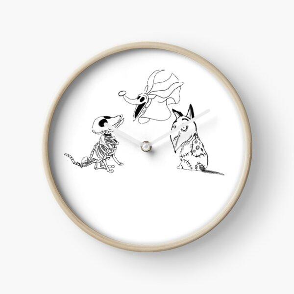 Perros Tim Burton Reloj