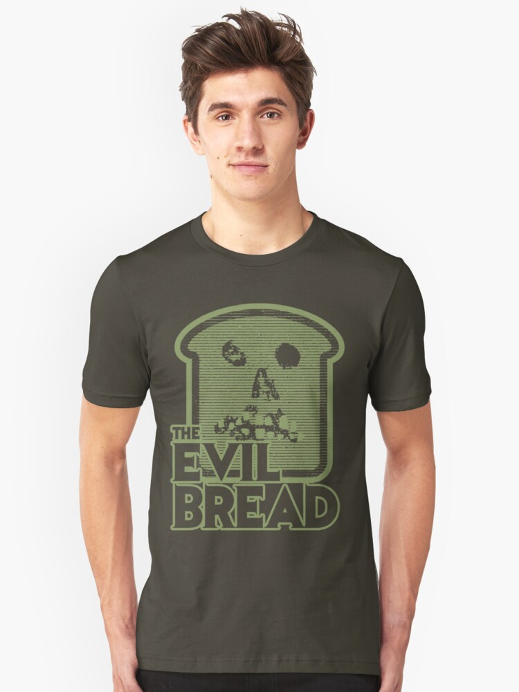The Evil Bread Unisex T-Shirt Front