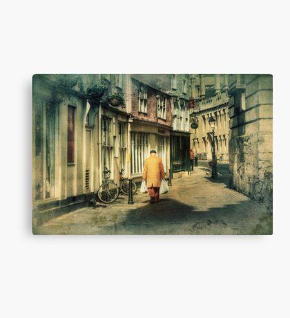 Back Streets Canvas Print