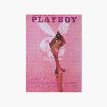 y2k 90s pink bunny aesthetic Art Board Print
