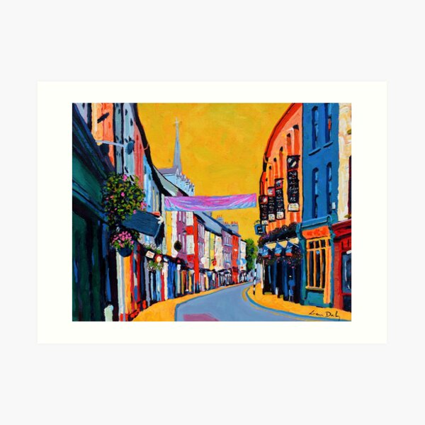 Clonakilty - Pearse St, County Cork, Ireland Art Print