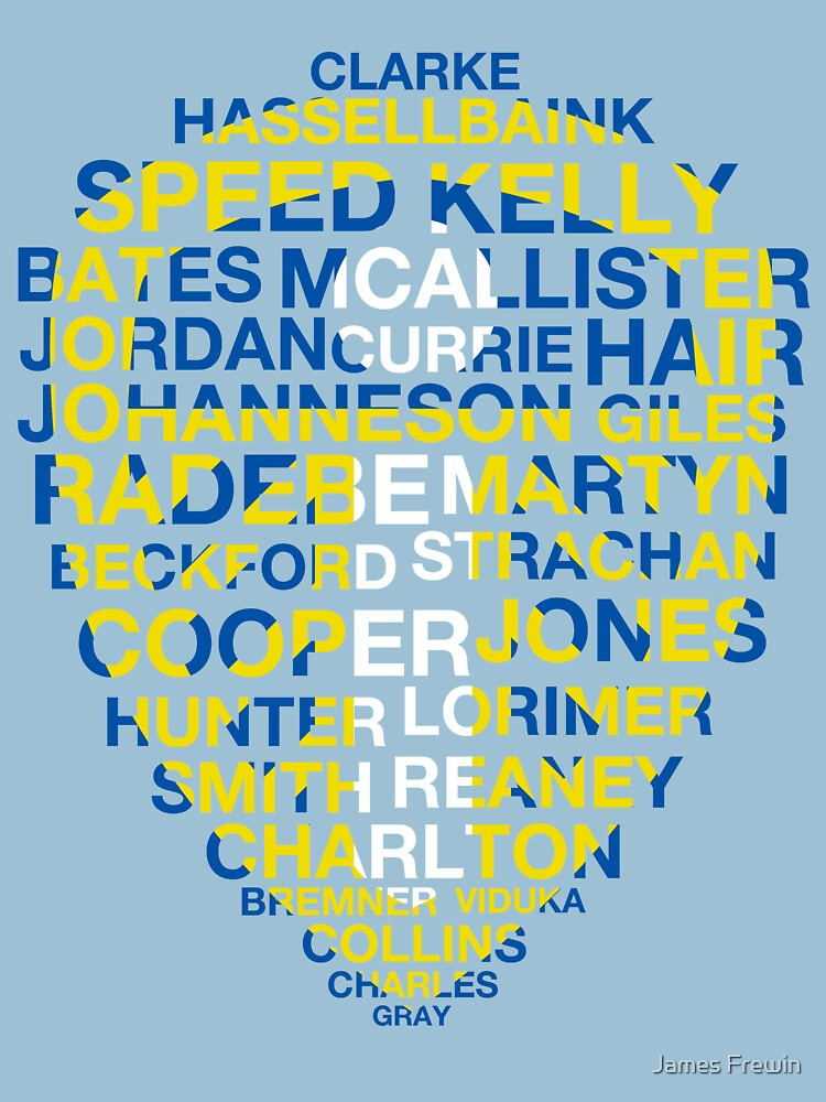 Leeds United Best Players Badge | Unisex T-Shirt