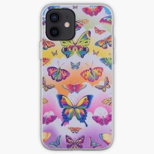 lisa frank rainbow y2k collage aesthetic iPhone Soft Case