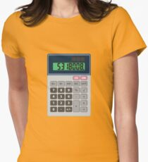 5318008 Leet Calculator Womens Fitted T-Shirt