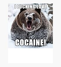 Bear Meme Photographic Print