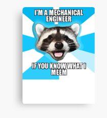 Tech Meme Canvas Print