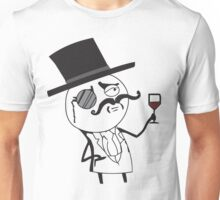 Monocle meme for light color shirts Unisex T-Shirt