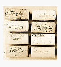 Wine Cork Collection Photographic Print