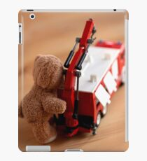 Fire Chief iPad Case/Skin