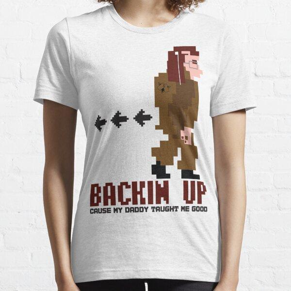 DAV Brandz Backin Up Lady Pixel Tee Essential T-Shirt